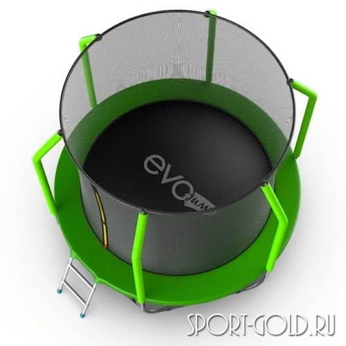 Батут EVO Jump Cosmo 6ft (1,83м) с сеткой и лестницей Фото 1