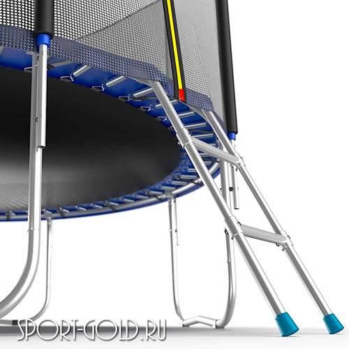 Батут EVO Jump External 10ft (3.05м) с сеткой и лестницей Фото 2