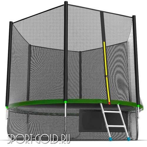 Батут EVO Jump External 10ft (3.05м) с сеткой и лестницей Фото 3