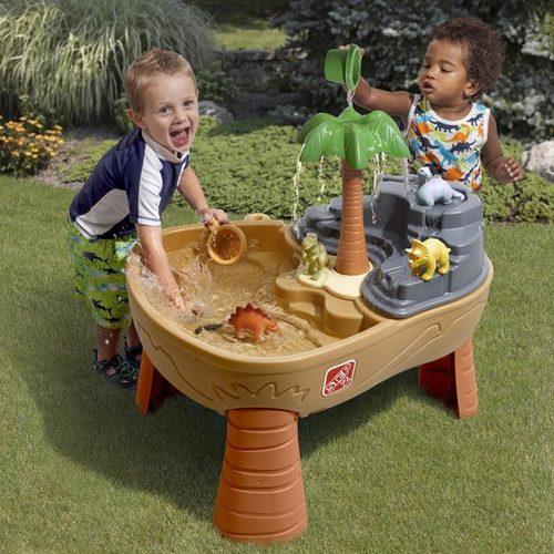 Столик для игры с песком и водой Step2 Дино Фото 3