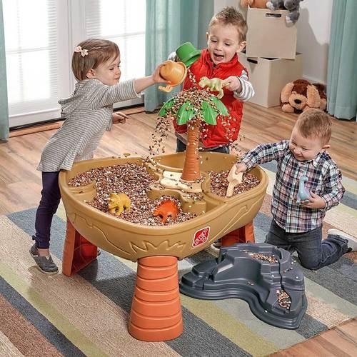 Столик для игры с песком и водой Step2 Дино Фото 6