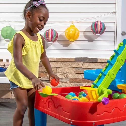 Столик для игр с водой и шариками Step2 Дискавери Фото 3