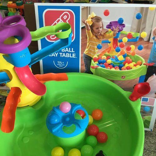 Столик для игр с водой и шариками Step2 Три в одном Фото 5