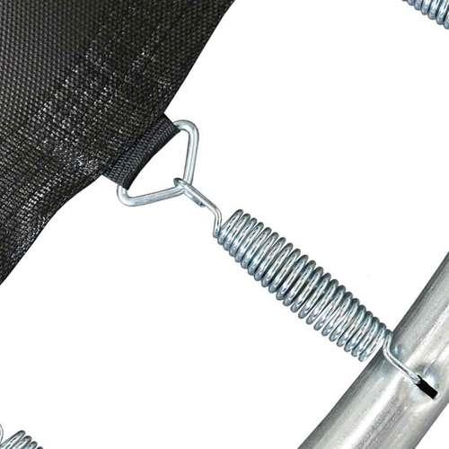 Батут ARLAND Премиум 12ft с внутренней сеткой и лестницей Фото 6