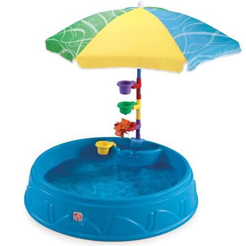 Бассейн-песочница Step2 с зонтиком для малышей Фото 5