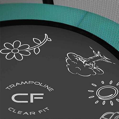 Батут Clear Fit FamilyHop 14ft Фото 2