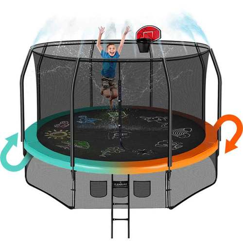 Батут Clear Fit FamilyHop 12ft Фото 13