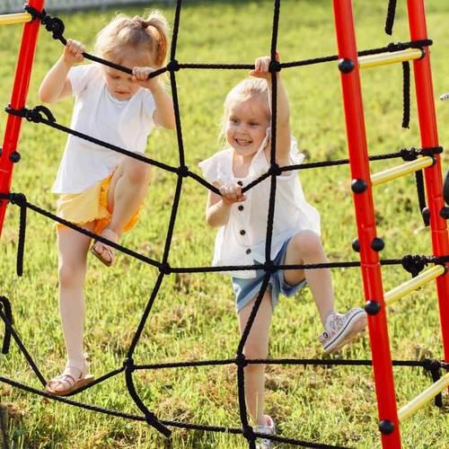Детский спортивный комплекс для дачи ROMANA Богатырь Плюс - 2 NEW Фото 4