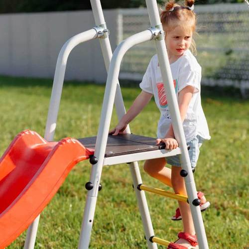 Детский спортивный комплекс для дачи ROMANA Богатырь Плюс - 2 NEW Фото 5