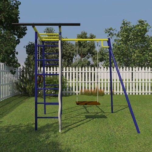Детский спортивный комплекс для дачи КАЧАЙ УДСК Тарзан Мини (Усиленный) Фото 1