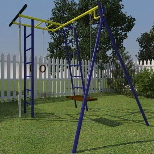 Детский спортивный комплекс для дачи КАЧАЙ УДСК Тарзан Мини (Усиленный) Фото 2