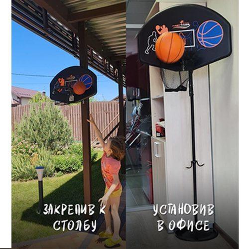 Баскетбольный щит с кольцом Hasttings для батутов (универсальный) Фото 5