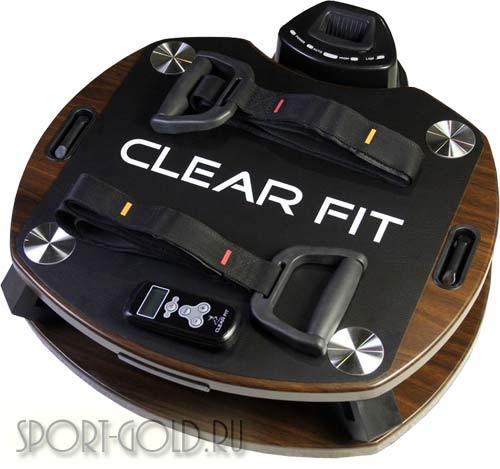 Виброплатформа Clear Fit CF-Plate Compact 201 White/Wenge Фото 1