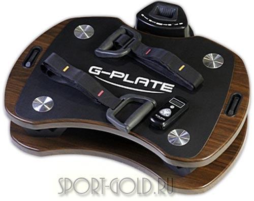 Виброплатформа G-Plate G 1.0 Белая/Венге Фото 1