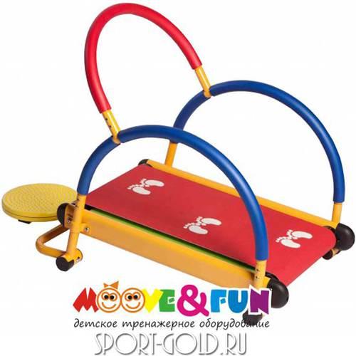 Детская беговая дорожка Moove&Fun SH-01-T с диском Фото 2