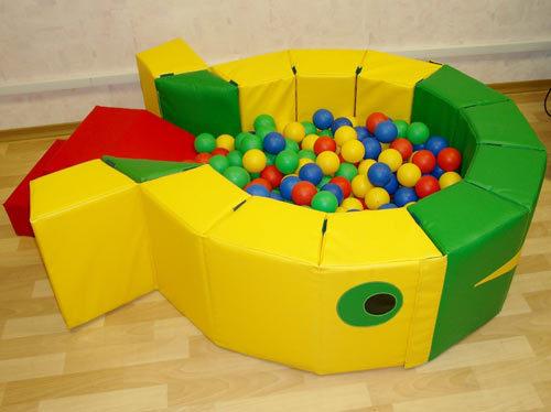 Сухой бассейн с шариками ROMANA Кит Фото 1