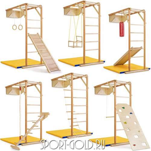 Детский спортивный комплекс Kidwood Жираф Фото 2