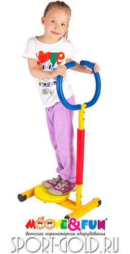 Детский тренажер Moove&Fun Твистер с ручкой SH-11 Фото 1