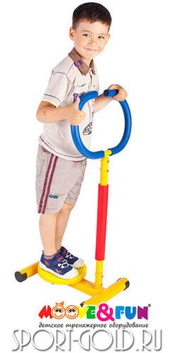 Детский тренажер Moove&Fun Твистер с ручкой SH-11 Фото 2