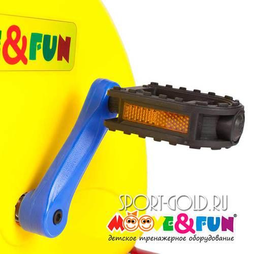 Детский велотренажер Moove&Fun SH-02W Фото 3