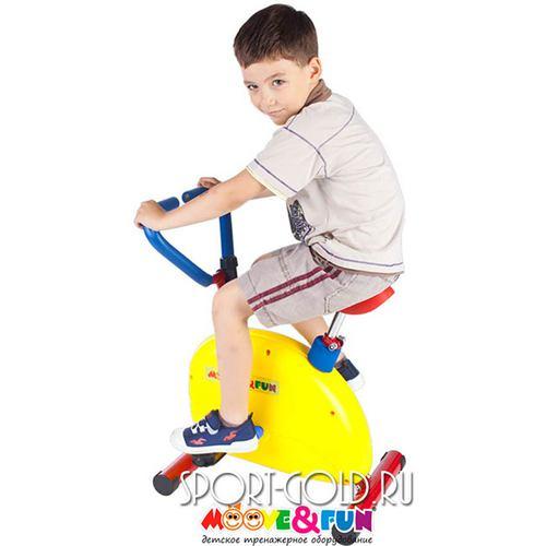 Детский велотренажер Moove&Fun SH-02W Фото 4