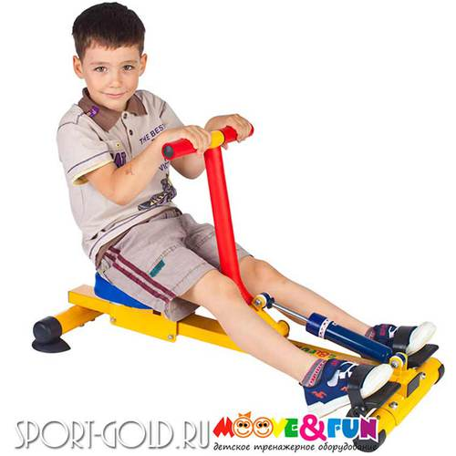 Детский тренажер Moove&Fun Гребной SH-04A Фото 4