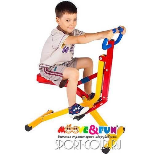 Детский тренажер Moove&Fun Наездник SH-08 Фото 3