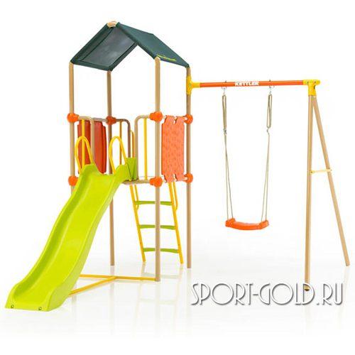 Детский спортивный комплекс для дачи Kettler Play Tower с качелями