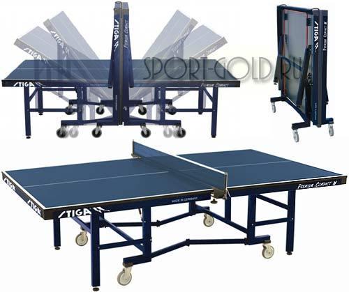 Теннисный стол STIGA Premium Compact W, ITTF