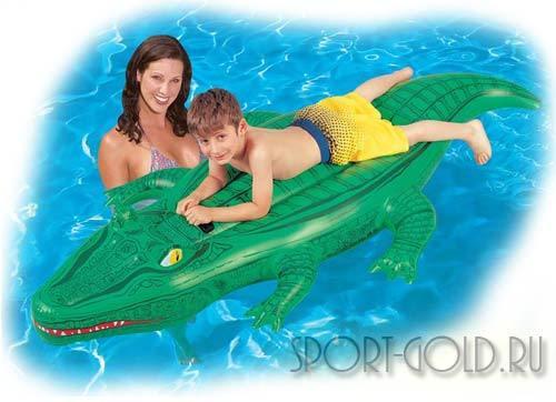 Дополнительный аксессуар для бассейна Bestway Надувной Крокодил