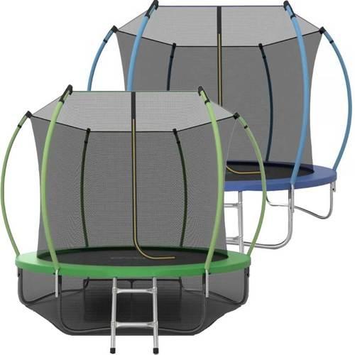Батут EVO Jump Internal 10ft (3.05м) с сеткой и лестницей