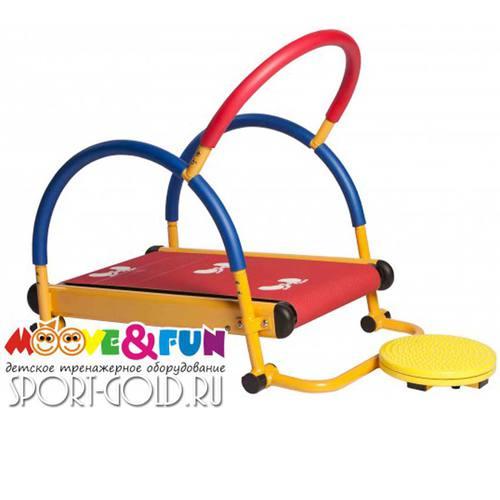 Детская беговая дорожка Moove&Fun SH-01-T с диском