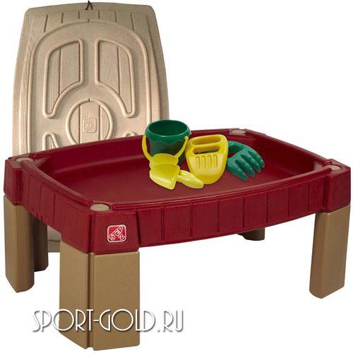 Столик для игры с песком Step 2 с треком для машинок, 159400