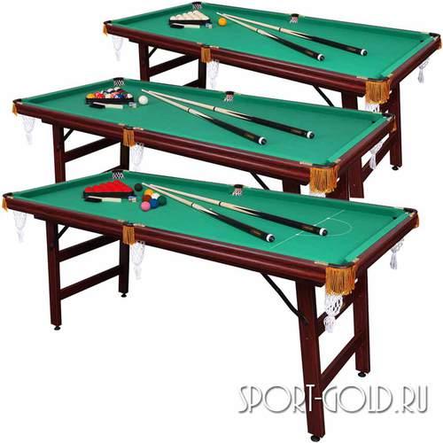 Бильядный стол Fortuna Русская Пирамида, Пул, Снукер 6фт