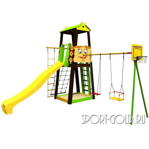 Детский спортивный комплекс для дачи ROMANA Буратино
