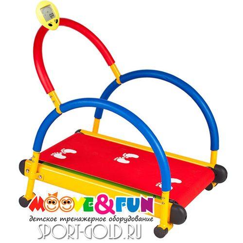 Детская беговая дорожка Moove&Fun SH-01C с компьютером