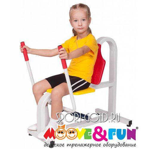 Детский силовой тренажер Moove&Fun Жим от груди MF-E06