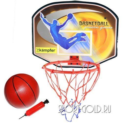 Аксессуар для ДСК Kampfer Баскетбольный щит с мячом и насосом BS01539