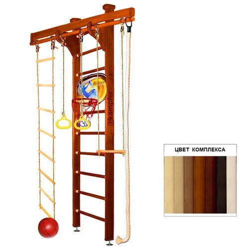 Детский спортивный комплекс Kampfer Wooden Ladder Ceiling Basketball Shield