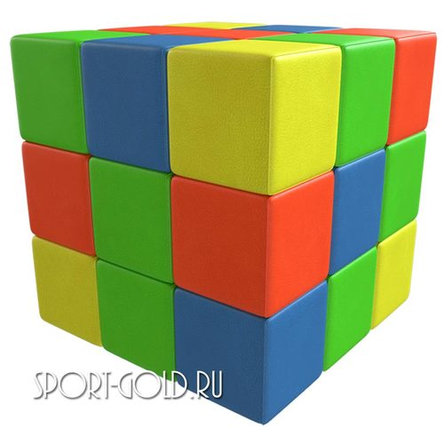 Мягкий конструктор ROMANA Кубик-рубик