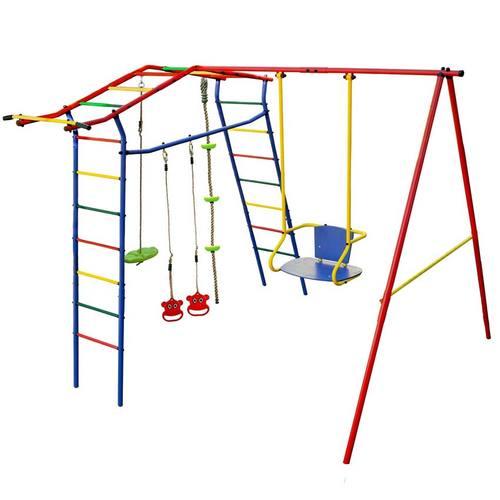Детский спортивный комплекс для дачи КМС Игромания Дачный