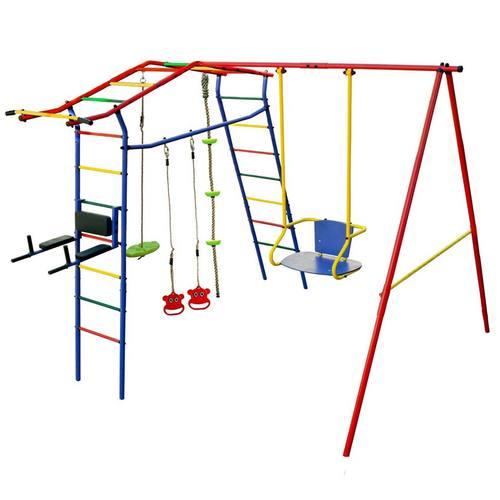 Детский спортивный комплекс для дачи КМС Игромания-3 Пресс