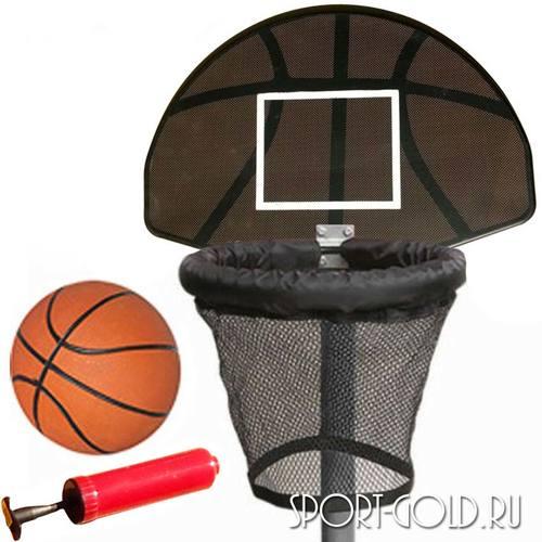 Баскетбольный щит с кольцом DFC BAS-H для батутов Kengoo