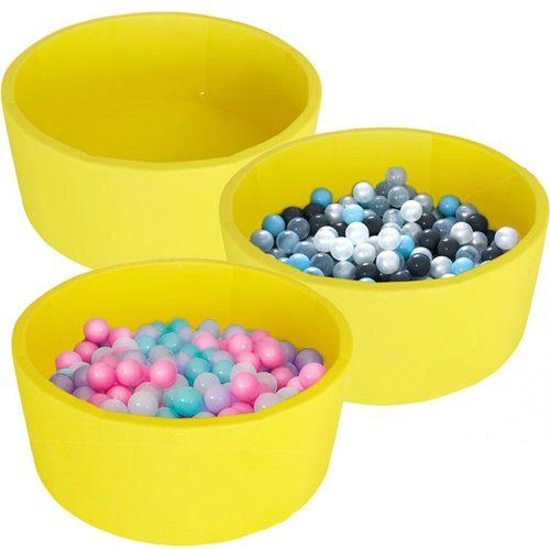 Сухой бассейн Kampfer Pretty Bubble желтый