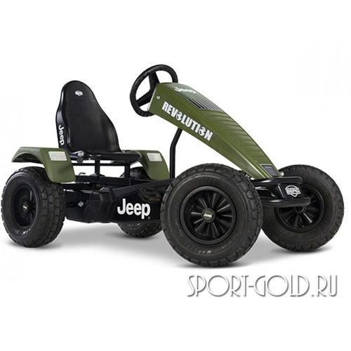 Веломобиль BERG Jeep Revolution BFR