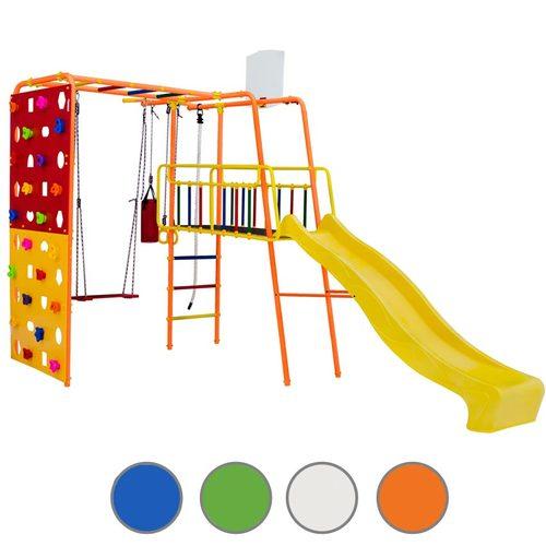 Детский спортивный комплекс для дачи ФОРМУЛА ЗДОРОВЬЯ Street 3 Smile