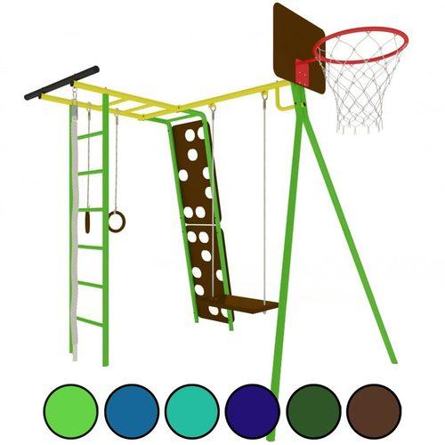 Детский спортивный комплекс для дачи КАЧАЙ Тарзан Мини - 2 (Усиленный)
