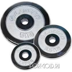 Диски для штанги Larsen NT125, 26 мм, хромированные