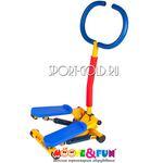 Детский тренажер Moove&Fun Степпер с ручкой SH-10