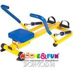 Детский тренажер Moove&Fun Гребной SH-04
